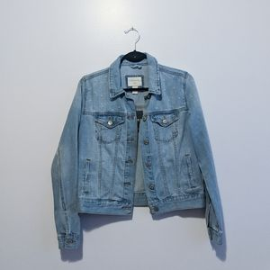 Forever21 Hand Embellished Denim Jacket